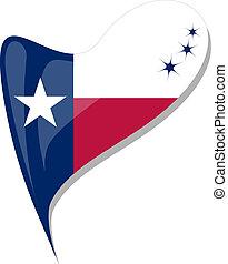 καρδιά , κουμπί , αναπτύσσομαι. , σημαία , μικροβιοφορέας , texas