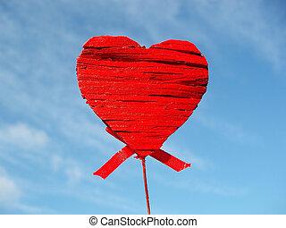 καρδιά , κόκκινο