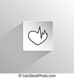 καρδιά , μαύρο , άρρωστος , εικόνα