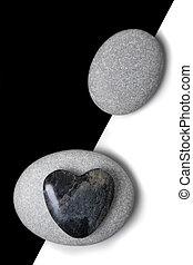 καρδιά , πέτρα , τέχνη