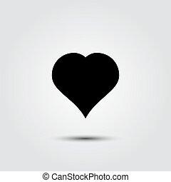 καρδιά , ρυθμός , διαμέρισμα , φόντο , άσπρο , εικόνα