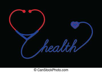 καρδιά , στηθοσκόπιο