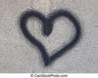 καρδιά , σύμβολο από αγάπη