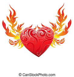 καρδιά , σύμβολο , μικροβιοφορέας , κόκκινο