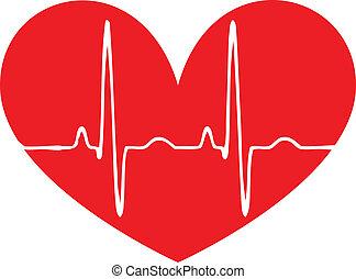 καρδιά , όσπριο , κόκκινο