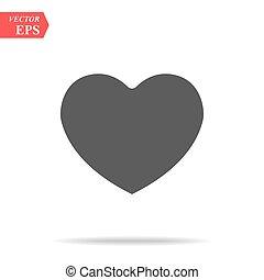 καρδιά , eps10, pictogram., αγάπη , σχεδιάζω , τέλειος , ιστός , ρυθμός , βαλεντίνη , απομονωμένος , μαύρο , vector., άσπρο , logo., σκιά , διαμέρισμα , έμβλημα , σήμα , σύμβολο. , φόντο , ημέρα , εικόνα , γραφικός