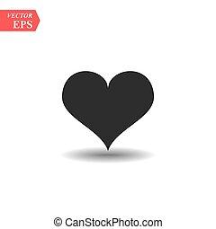 καρδιά , eps10, pictogram., ανώνυμο ερωτικό γράμμα , αγάπη , σχεδιάζω , τέλειος , ιστός , ρυθμός , απομονωμένος , μαύρο , vector., άσπρο , logo., σκιά , διαμέρισμα , έμβλημα , σήμα , σύμβολο. , φόντο , ημέρα , εικόνα , γραφικός , s
