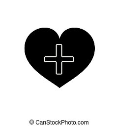 καρδιά , eps10, pictogram., απομονωμένος , healthcare , σχεδιάζω , ιστός , ρυθμός , γιατρός , σταυρός , άσπρο , logo., shadow., διαμέρισμα , έμβλημα , σήμα , σύμβολο. , φόντο , ημέρα , γραφικός , ιατρικός , s , μικροβιοφορέας , icon.