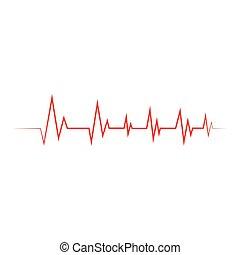 καρδιογράφημα , εικόνα , μικροβιοφορέας , καρδιοχτύπι , εικόνα
