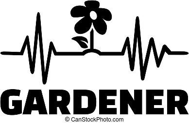 καρδιοχτύπι , δουλειά , γραμμή , κηπουρός , τίτλοs
