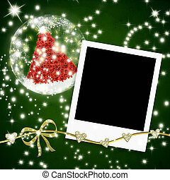 καρτέλλες , αποτελώ το πλαίσιο , φωτογραφία , χαιρετισμός , xριστούγεννα