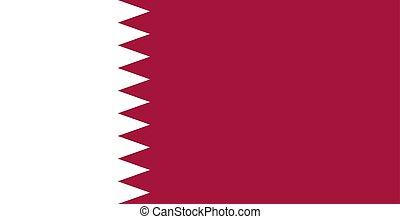 κατάρ , illustration., flag., εθνικός , al , μικροβιοφορέας , adaam