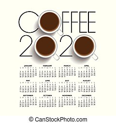 κατάστημα , καφέs , 2020, ημερολόγιο , δημιουργικός