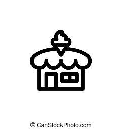 κατάστημα , ρυθμός , εικόνα , πάγοs , μικροβιοφορέας , γραμμή , κρέμα , εικόνα