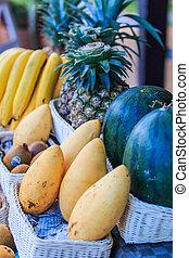 κατάστημα , φρούτο