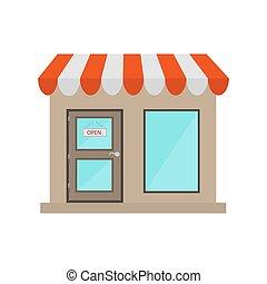 κατάστημα , e-commerce , πόρτα , ακάλυπτη θέση αναχωρώ