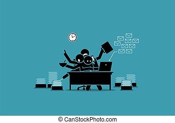 κατέπνιψα , δούλεμα ακολουθία , work., απασχολημένος , άντραs