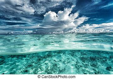 καταπληκτικός , θαλασσογραφία