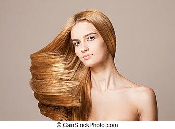 καταπληκτικός , ρεύση , hair.