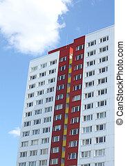 κατοικητικός , κτίριο