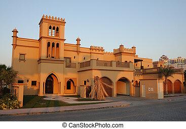 κατοικητικός , σπίτι , μέσα , dubai , ενωμένα αραβικά εμιράτα