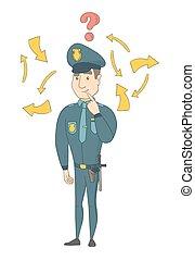 καυκάσιος , mark., ερώτηση , νέος , αστυνομικόs