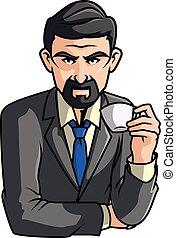 καφέs , άντραs