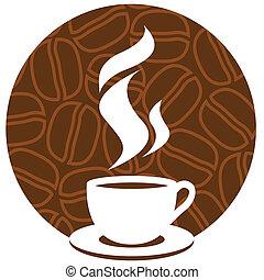 καφέs , σήμα