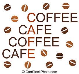 καφέs , σχεδιάζω