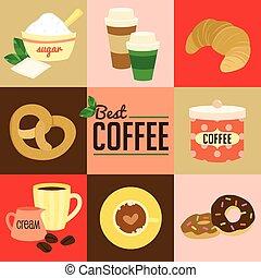 καφέs , σύμβολο