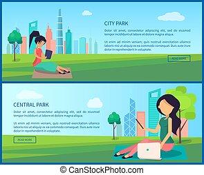 κεντρικός , πάρκο της πόλης , προωθητικά , internet ,...