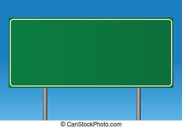 κενό , πράσινο , σήμα