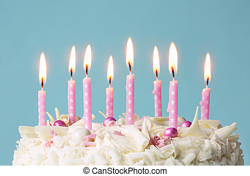 κερί, γενέθλια