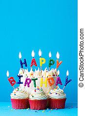 κερί, γενέθλια, ευτυχισμένος