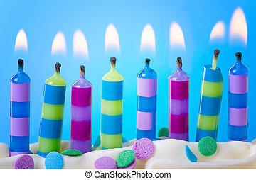 κερί , γενέθλια