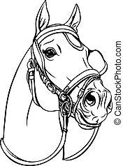 κεφάλι , άλογο