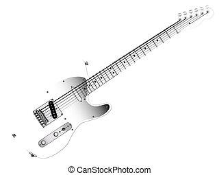 κιθάρα , γυαλί