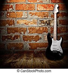 κιθάρα , δωμάτιο , ηλεκτρικός