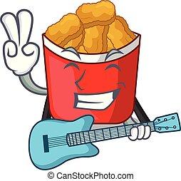 κιθάρα , σχήμα , γελοιογραφία , άπειρος βώλος