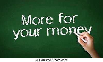 κιμωλία , χρήματα , δικό σου , εικόνα , περισσότερο