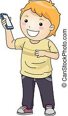 κινητός , αγόρι , παιδί , τηλέφωνο