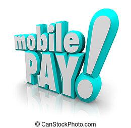 κινητός , πληρώνω , app , κινητό τηλέφωνο , κομψός , λόγια , πληρωμή , κατάστημα , 3d