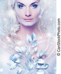 κλαδάκι , βασίλισσα , μαγεία , χιόνι