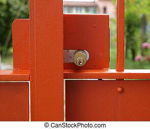 κλειδαριά , πόρτα