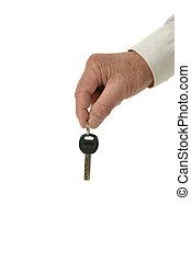 κλειδιά , άντραs , χέρι
