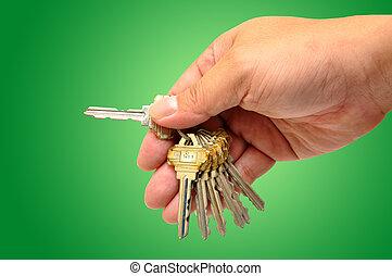 κλειδιά , ανθρώπινο όν ανάμιξη