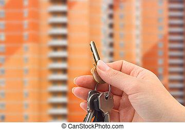 κλειδιά , χέρι