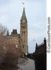 κοινοβουλευτικός , κτίρια , βουλή , departmental, ottawa , λόφος