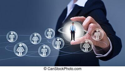 κοινωνικός , networking , γενική ιδέα
