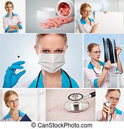 κολάζ , ιατρικός